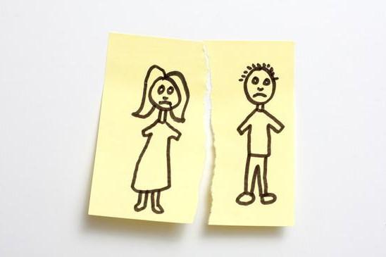 Процедура развенчания после развода
