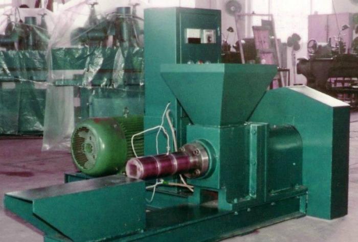 станок для производства брикетов из опилок
