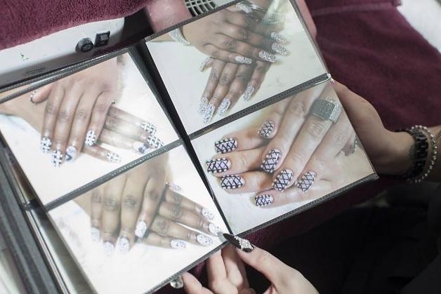идея для наращивания ногтей