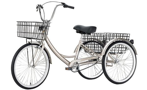 велосипед для взрослых трехколесный