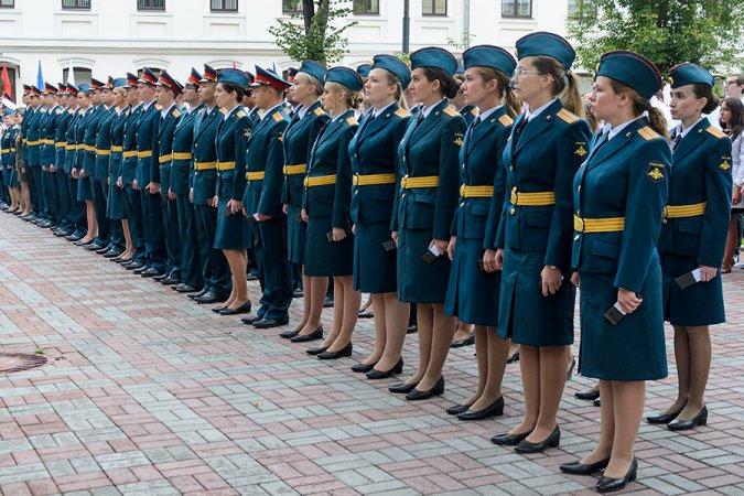 Обучение будущих офицеров