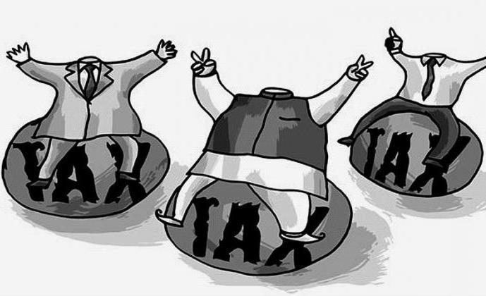 регрессивные налоги в рф