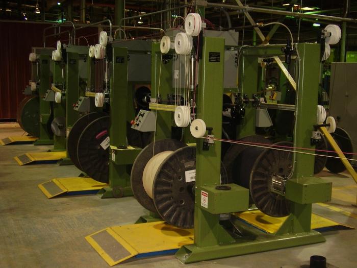 Линии оборудования для производства кабеля