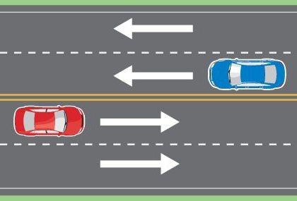 Какое наказание полагается за пересечение двойной сплошной? Пересечение двойной сплошной линии разметки: штраф или лишение прав?