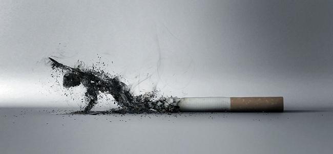 объявление о курении в подъезде