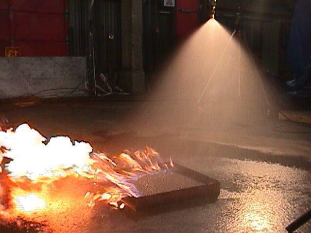 модульное пожаротушение тонкораспыленной водой