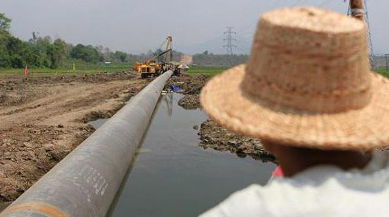Земляные работы в охранной зоне газопровода- неразрешенные предписывающие знаки дорожного движения большие для