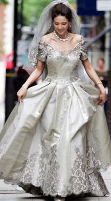 Самое дорогое свадебное платье в мире (фото)