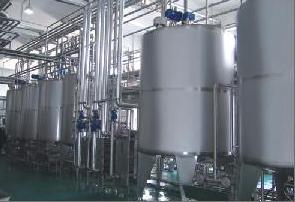 установка для производства сгущенного молока