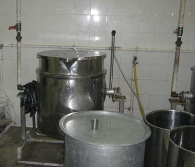 аппарат для производства сгущенного молока