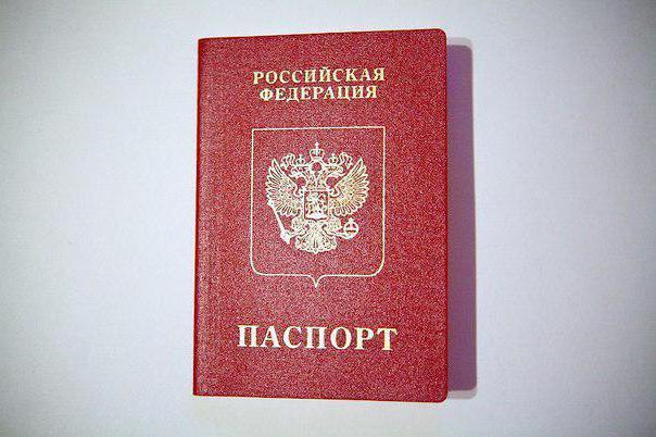 Где указан срок действия паспорта рф
