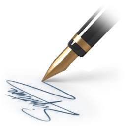 Факсимильная подпись: изготовление, использование