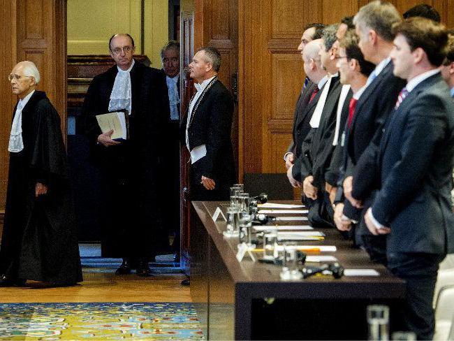 Деятельность международного суда