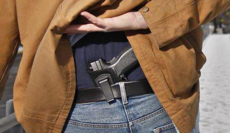 Служебное оружие в охранной деятельности