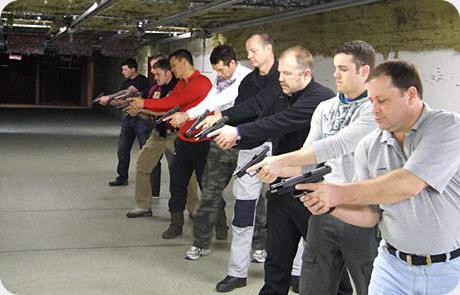 Порядок применения оружия военнослужащими и сотрудниками полиции