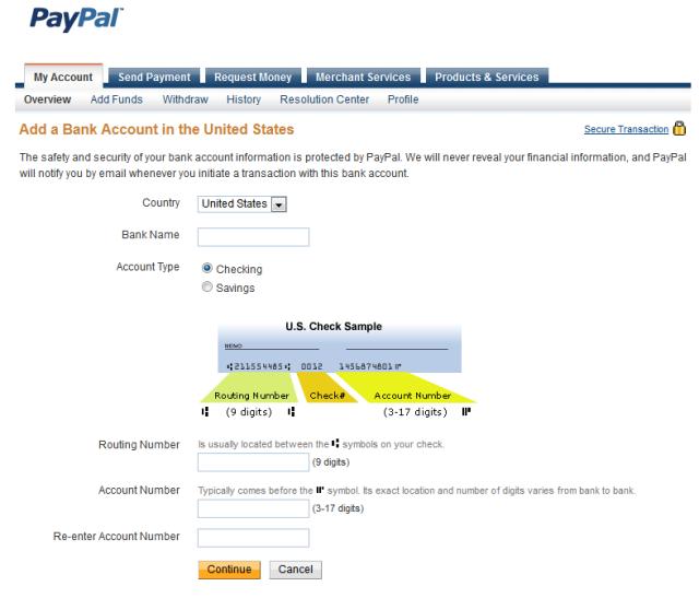Как вывести заработанные деньги с PayPal