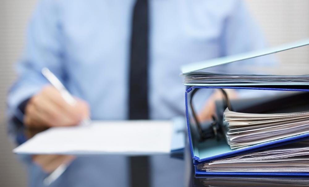 папки и документы