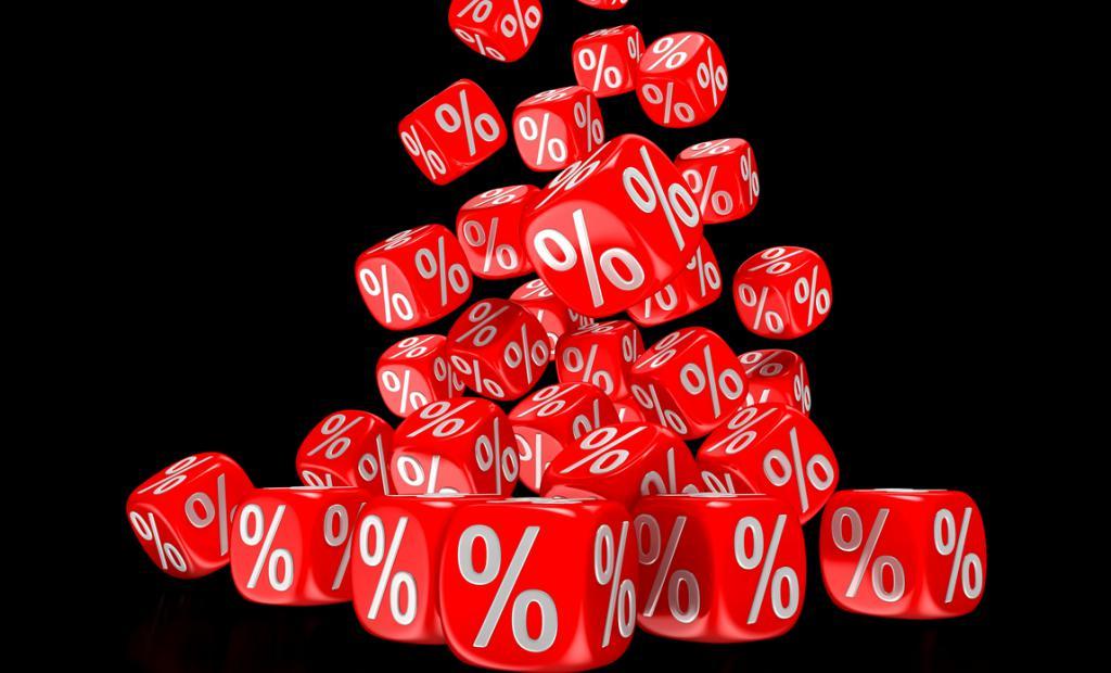 кубики со процентами