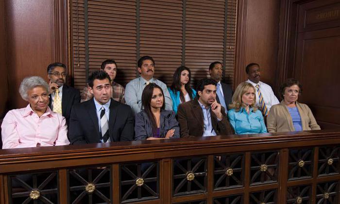 Кто такие присяжные заседатели? Суд присяжных заседателей
