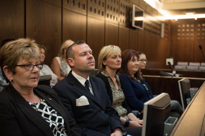 Участие присяжных заседателей