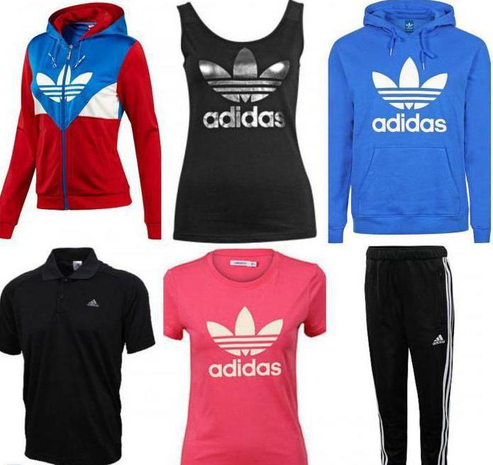 Спортивные марки одежды