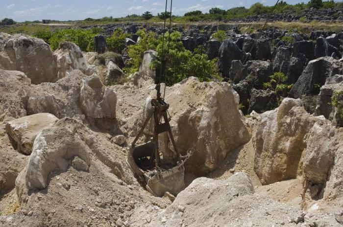 Общераспространенные полезные ископаемые перечень