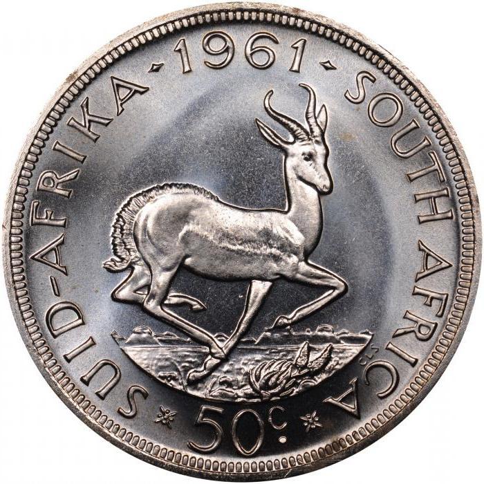 Национальная валюта ЮАР: южноафриканский ранд