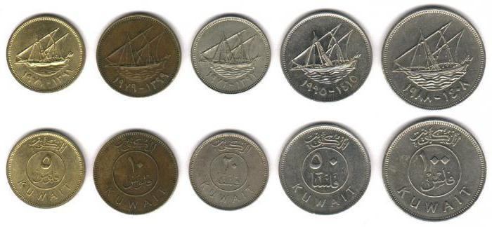 Национальная валюта эмирата Кувейт - кувейтский динар