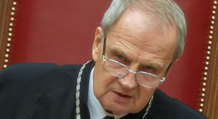 Председатель Конституционного Суда Российской Федерации: порядок назначения, сроки, полномочия и обязанности