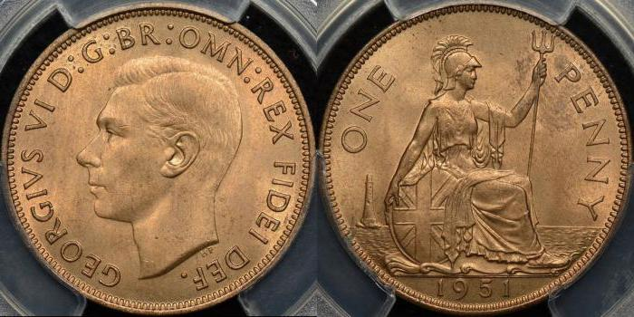 Что такое пенни? Британский пенни и его история