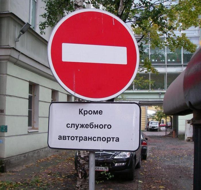 Запрещающие знаки дорожные с комментариями и пояснениями