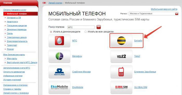 Мобильный перевод МТС: способы активации