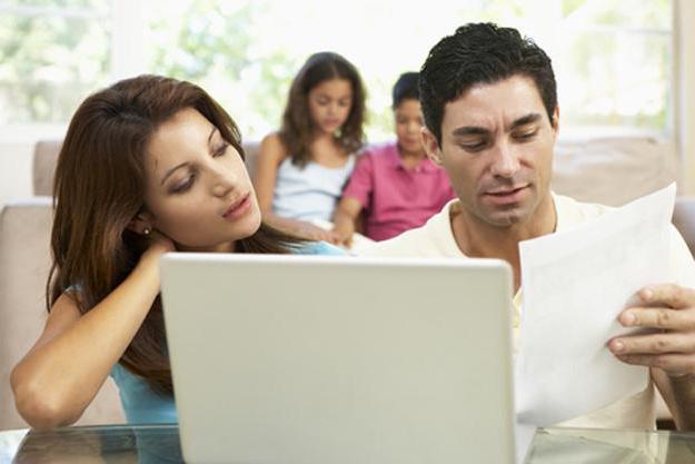 Виды доходов семьи