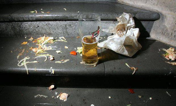 можно ли пить пиво на улице