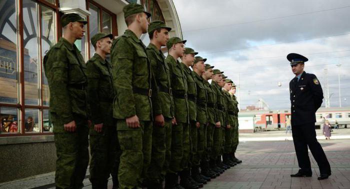 Постановка на воинский учет