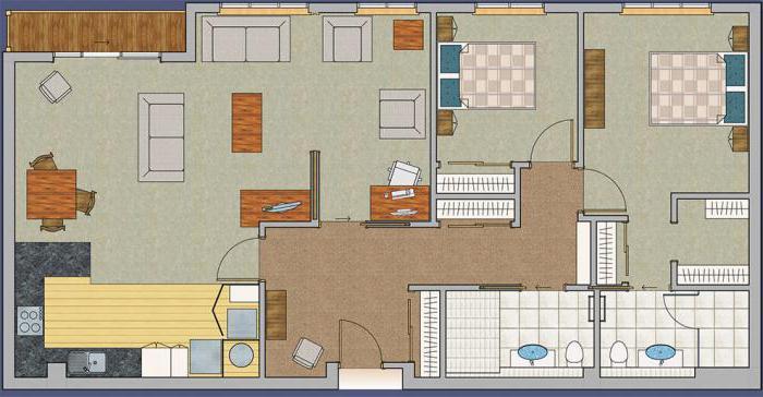 Изображение - Что входит в жилую площадь квартиры, и общую площадь, что это такое и как считается 36127