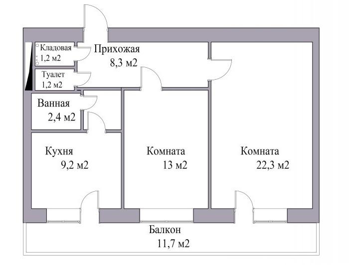 Жилая площадь квартиры включает? Понятие и особенности расчета