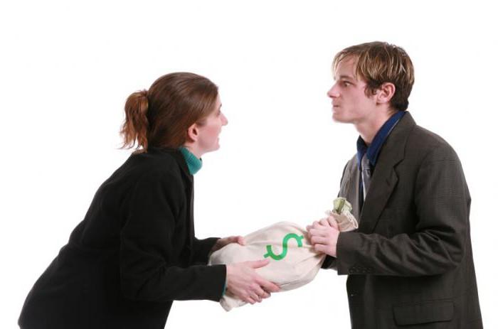 алименты на содержание супруги