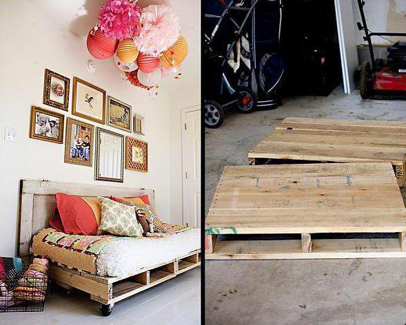 мебель из поддонов фото