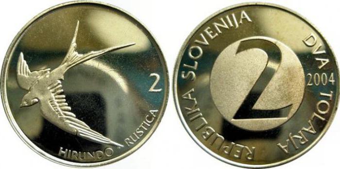 Валюта Словении: словенский толар и евро