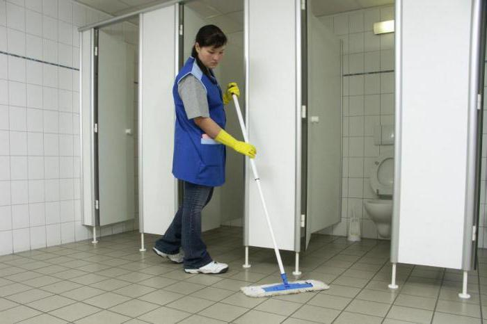 должностные обязанности уборщицы в школе