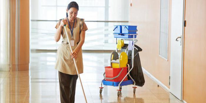должностные обязанности уборщицы служебных помещений