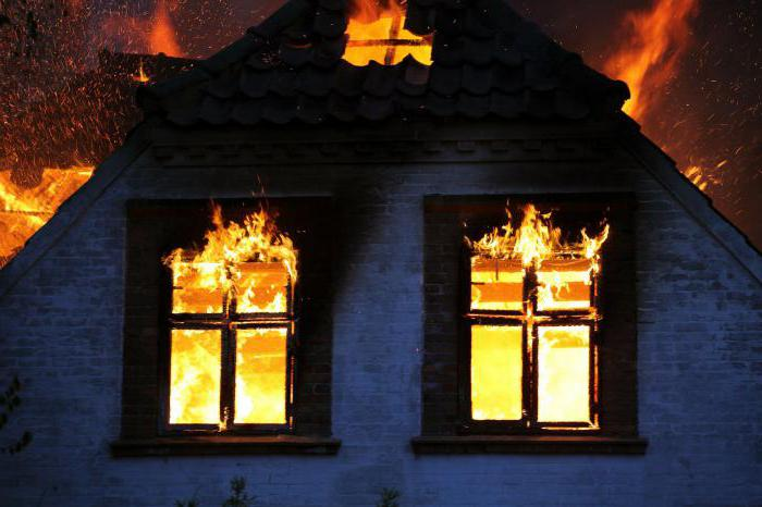 как предотвратить возникновение пожара в доме