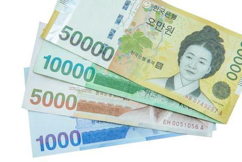 Валюта Кореи: различия Севера и Юга