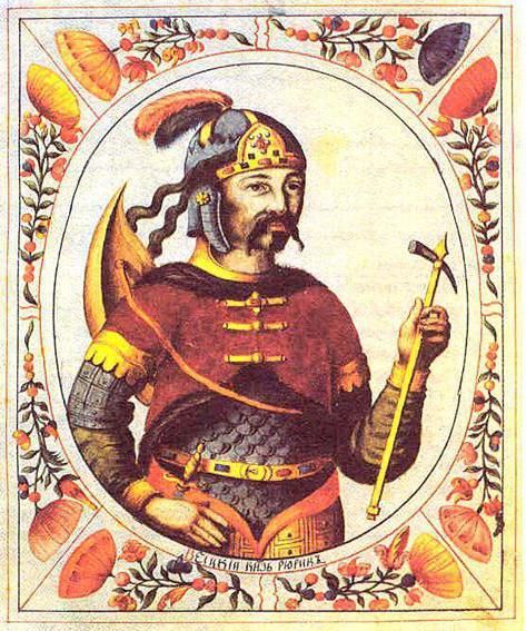 Первые князья на Руси