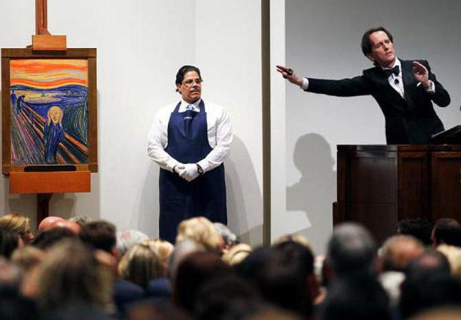 Аукцион картин: особенности проведения. Интернет-аукцион по продаже картин