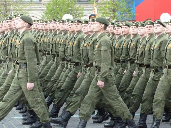 Статус военнослужащих