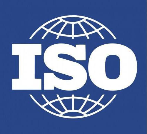 объекты международной стандартизации
