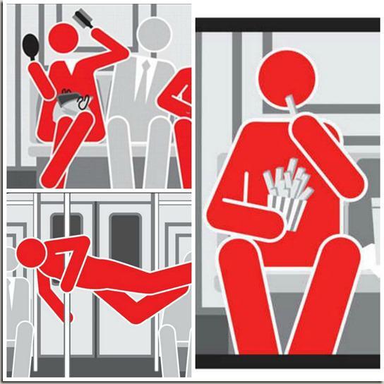 Правила пользования метрополитеном