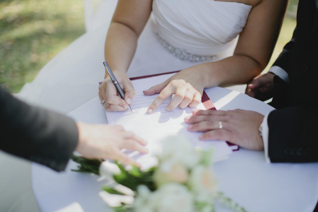 брачный договор пример